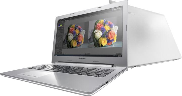 Lenovo IdeaPad Z50-75, bílý