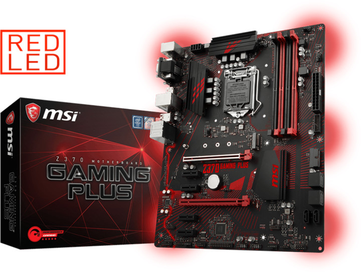 MSI Z370 GAMING PLUS - Intel Z370