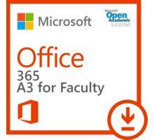 Microsoft Office 365 Plan A3 for Faculty - 5FV-00003