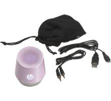 HP Mini Portable Speaker S4000, růžová