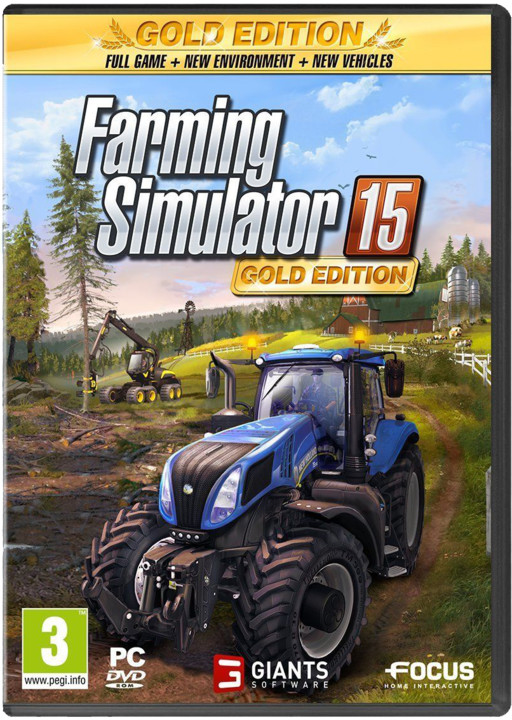 Farming Simulator 2015 - Zlatá edice - PC