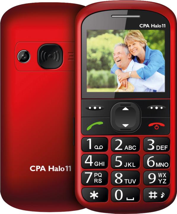 CPA HALO 11, červená