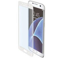 CELLY Glass ochranné tvrzené sklo pro Samsung Galaxy S7 Edge, bílé - GLASS591WH