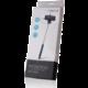 Forever MP-400 selfie tyč s ovládacím tlačítkem, černá