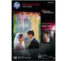 HP foto papír Premium Glossy Plus CR674A, A4, 50 ks, 300g/m2, lesklý