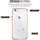 Spigen Ultra Hybrid TECH ochranný kryt pro iPhone 6/6s, crystal orange