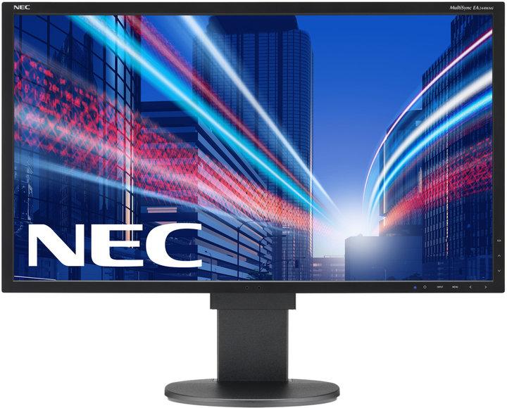 "NEC MultiSync EA244WMi, černá - LED monitor 24"""