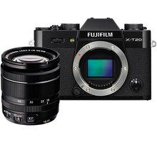 Fujifilm X-T20 + XF 18-55mm, černá - 16542816