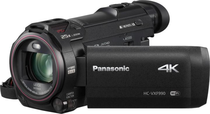 Panasonic HC-VXF990EP-K, černá
