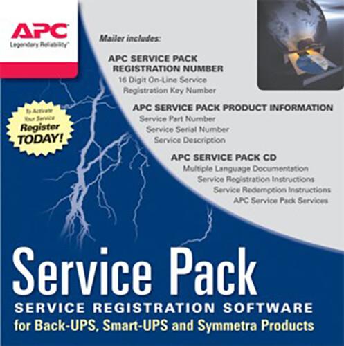 APC Service Pack - 1 rok prodloužené záruky pro současný prodej s novou UPS SP-01 - elektronická