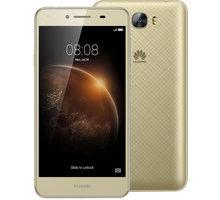 Huawei Y6 II Compact, Dual Sim, zlatá - SP-Y6IICDSGOM + Zdarma SIM karta Relax Mobil s kreditem 250 Kč