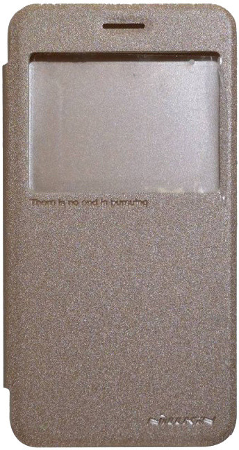 Nillkin Sparkle S-View pouzdro pro Lenovo Vibe K5/K5 Plus Gold