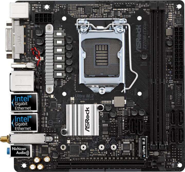 ASRock Z270M-ITX/ac - Intel Z270