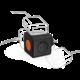 PowerCube multifunkční zásuvkový systém, 4x zásuvka, černo/oranžová