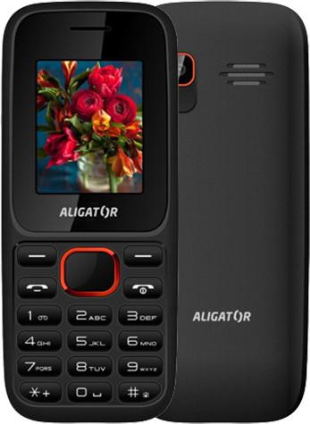 Aligator D200, černo/červená
