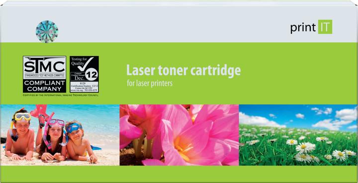 PRINT IT alternativní toner pro HP CF381A, azurová