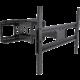 Stell SHO 3610 SLIM výsuvný držák TV, černá  + Zdarma FIELDMANN FDS 1002-6R (v ceně 139,-)