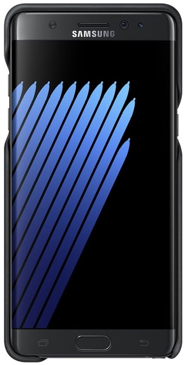 Samsung Leather Cover pro Note 7 Black