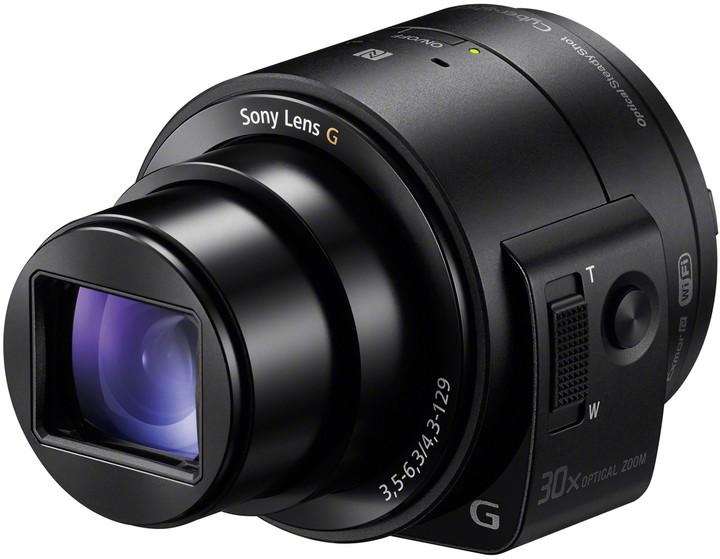 Sony DSC-QX30, černá