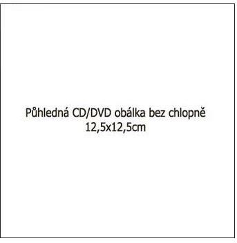 polypropylenová obálka pro CD nebo DVD médium 100ks