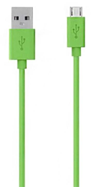 Belkin Mixit USB/microB, 2m, zelená