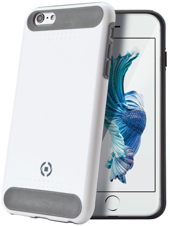CELLY Rock zadní kryt pro Apple iPhone 6S, bílý