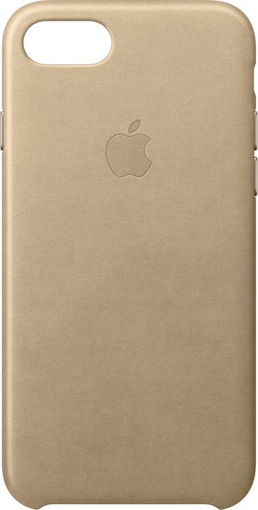 Apple Kožený kryt na iPhone 7 – žlutohnědý