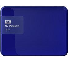 WD My Passport ULTRA - 4TB, modrá - WDBBKD0040BBL