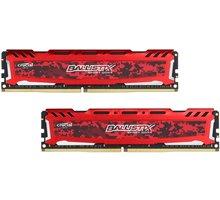 Crucial Ballistix Sport LT Red 16GB (2x8GB) DDR4 2400 CL 16 - BLS2C8G4D240FSE