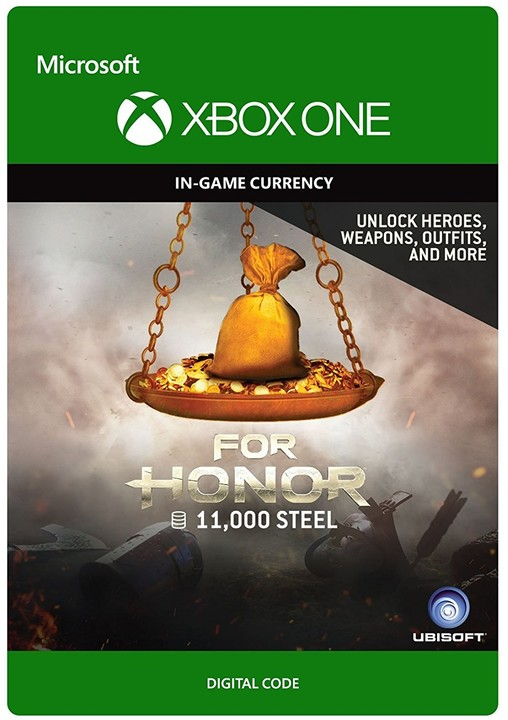 For Honor: 11 000 Steel Credits (Xbox ONE) - elektronicky