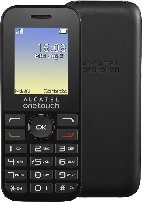 ALCATEL OT-1016G, černá