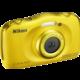 Nikon Coolpix W100, žlutá + Backpack kit