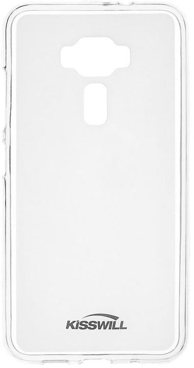 Kisswill TPU pouzdro pro Asus ZenFone 3 ZE520KL, transparentní