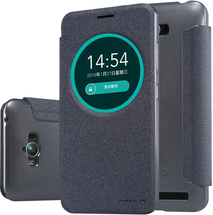 Nillkin Sparkle S-View pouzdro Black pro ASUS Zenfone Max ZC550KL
