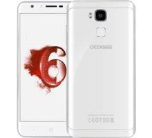 DOOGEE Y6 - 64GB, bílá