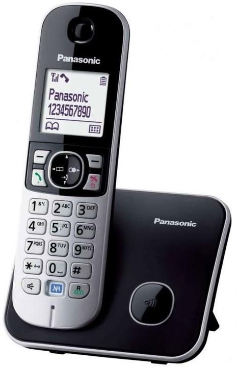 Panasonic DECT KX-TG6811FXB, černá