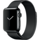 Apple Watch 2 38mm Space Black Stainless Steel Case with Space Black Milanese Loop