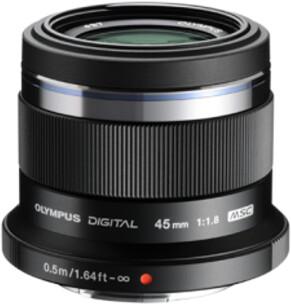 Olympus ET-M4518 45mm, F1.8 černá