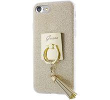Guess Ring TPU Pouzdro Gold pro iPhone 7 - GUHCP7RSGO