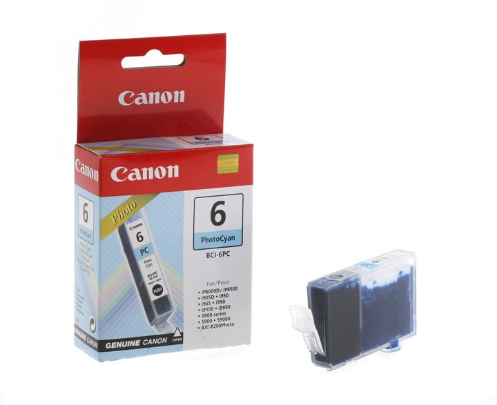 Canon BCI6-PC, azurová foto