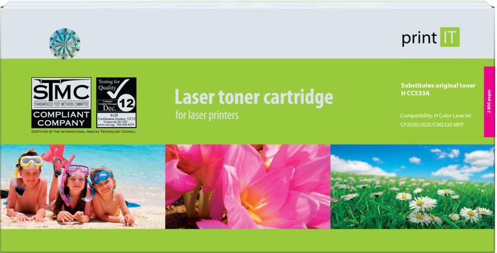 PRINT IT alternativní HP CC533 CM2320/CP2028 Magenta