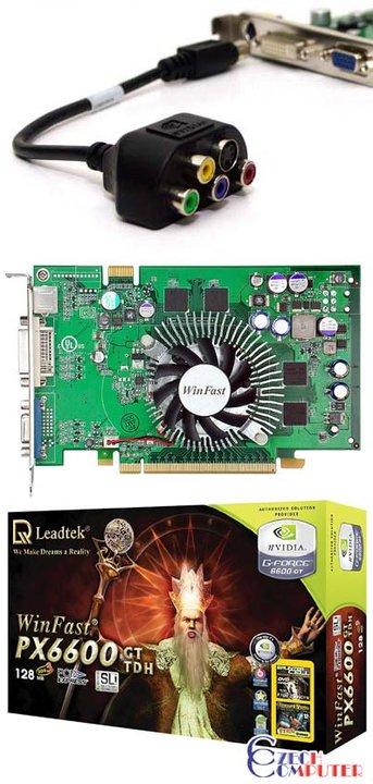 Leadtek Winfast PX6600GT TDH 128MB, PCI-E