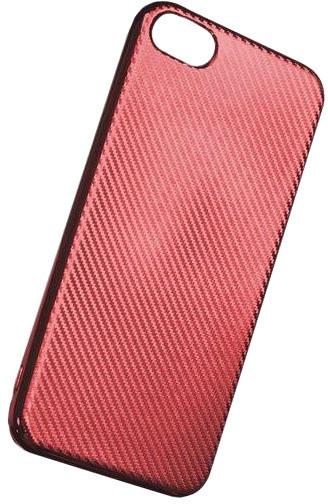Forever silikonové (TPU) pouzdro pro Samsung Galaxy S8, carbon/červená