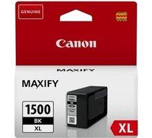 Canon PGI-1500XL BK, černá - 9182B001