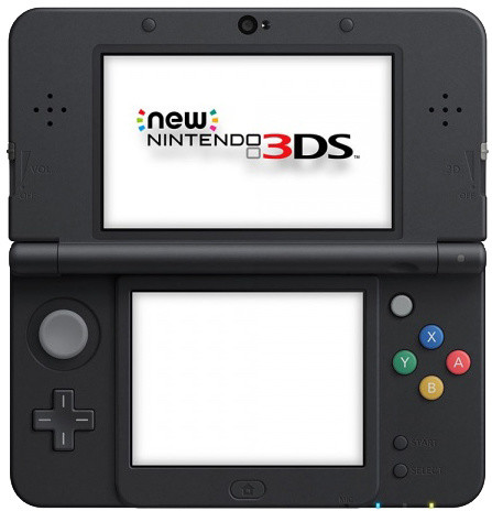 Nintendo New 3DS, černá