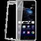CELLY Laser - lemování s kovovým efektem TPU pouzdro pro Huawei P10 Plus, stříbrné