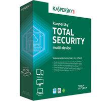 Kaspersky Total Security multi-device CZ pro 1 zařízení na 24 měsíců, nová licence - KL1919XCADS