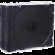 CD Box na 1 CD, černá, 5ks