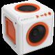 AudioCube portable - bílá , oranžová