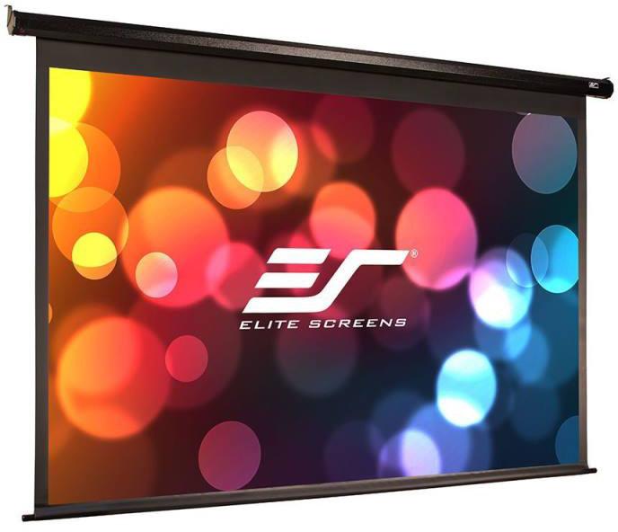 """Elite Screens plátno elektrické motorové 110"""" (279,4) cm)/ 16:9/ 137 x 244 cm/ case černý"""